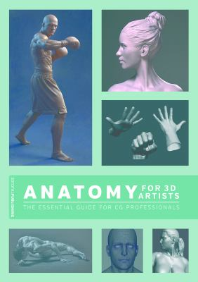 A book cover with images of 3D-rendered faces and bodies, with white text on a green background.