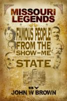 Book cover for Missouri Legends