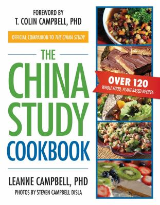 white book cover with title text and photographs of healthy Chinese dishes