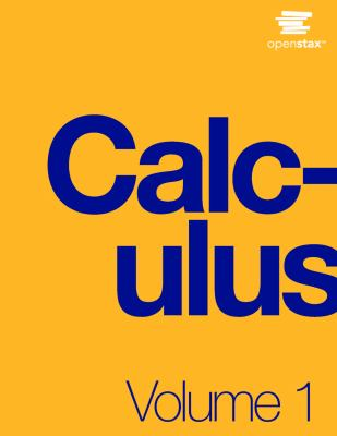 book cover - Calculus Volume 1