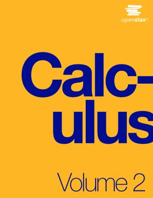 book cover - Calculus Volume 2