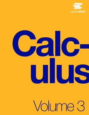 book cover - Calculus Volume 3