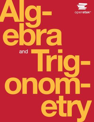 book cover Algebra and Trigonometry