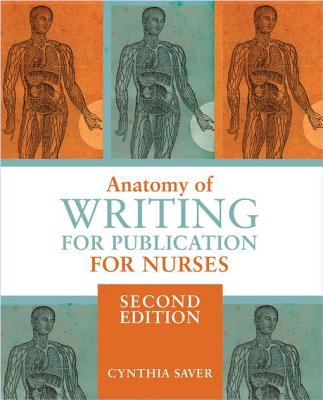 Cover Art of Anatomy of Writing for Publication for Nurses