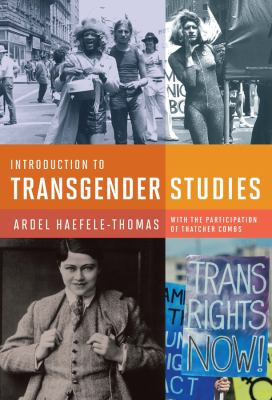 Introduction to Transgender Studies Cover Art
