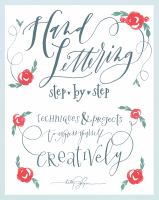 Hand Lettering book cover