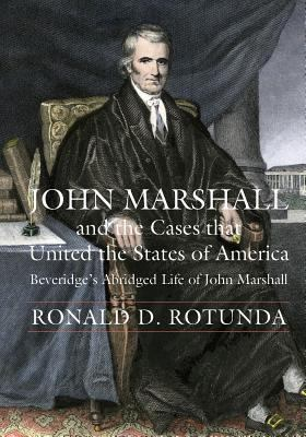 book cover for John Marshall and the cases that united the states of America