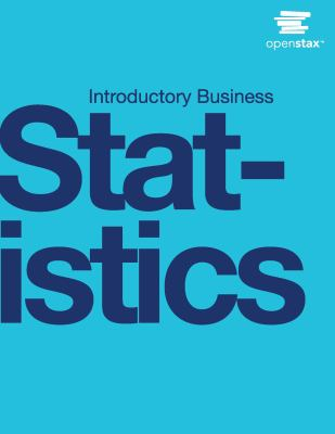 book cover: Introductory business statistics