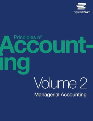 Principles of Accounting, Volume 2
