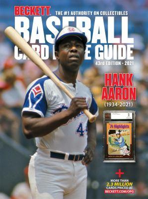 Baseball card price guide.