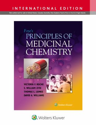 Cover of Foye's Principles of Medicinal Chemistry
