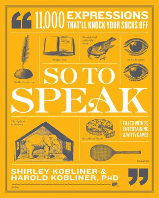 So to Speak - April