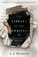Library of the Unwritten book cover