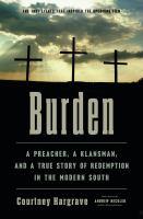 Burden Book cover