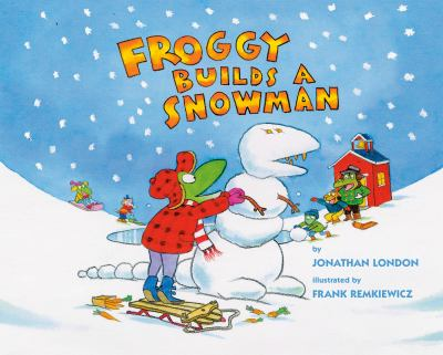Cover Art for Froggy Builds a Snowman