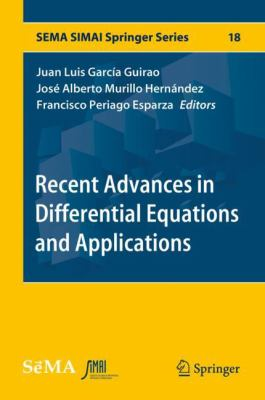 book cover: Recent Advances in Differential Equations and Applications
