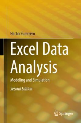 book cover: Excel Data Analysis: modeling and simulation