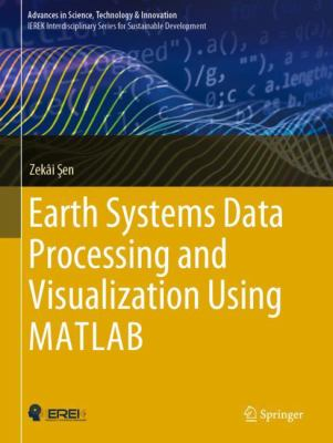 book cover: Earth Systems Data Processing and Visualization Using MATLAB