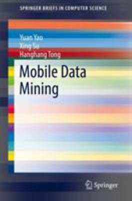 book cover: Mobile Data Mining