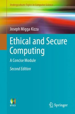 book cover:  Ethical and Secure Computing