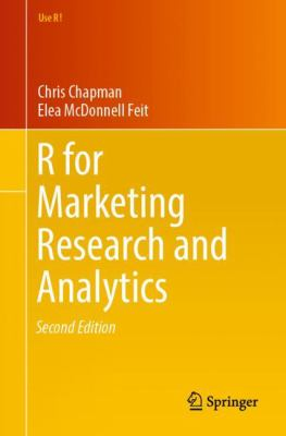 [book cover art ] R for marketing research and analytics