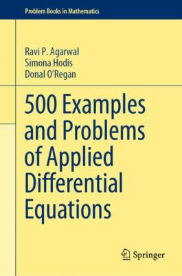 book cover - 500 Examples and Problems of Applied Differential Equations