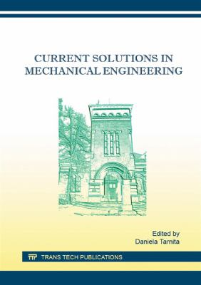Cover Art for current solutions in mechanical engineering by D. Tarnita (Editor)