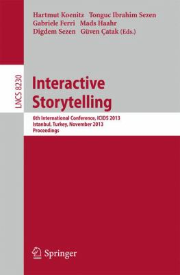 book cover: Interactive Storytelling