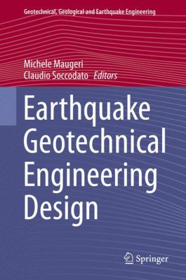 book cover: Earthquake Geotechnical Engineering Design