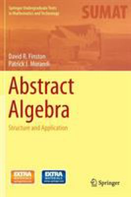 book cover: Abstract Algebra: structure and application