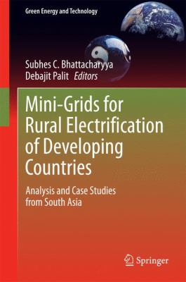 book cover: Mini-Grids for Rural Electrification of Developing Countries