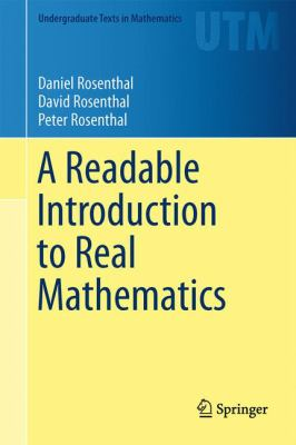 book cover: A Readable Introduction to Real Mathematics