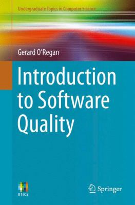 book cover: Introduction to Software Quality