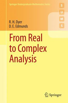book cover: From Real to Complex Analysis