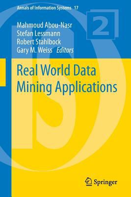 book cover: Real World Data Mining Applications