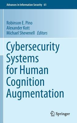 book cover:Cybersecurity Systems for Human Cognition Augmentation