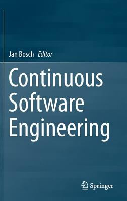 book cover: Continuous Software Engineering
