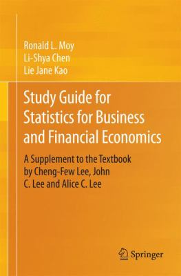 book cover: Study Guide for Statistics for Business and Financial Economics