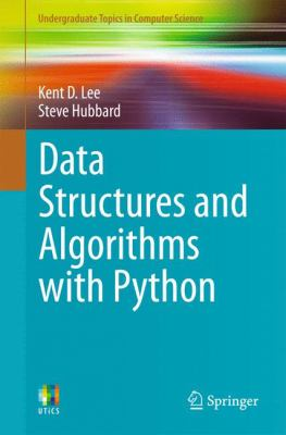 book cover: Data Structures and Algorithms with Python