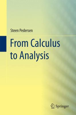 book cover: From Calculus to Analysis (2015)