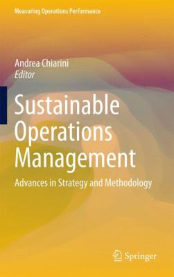 Sustainable Operations Management: Advances in strategy and methodology - Opens in a new window