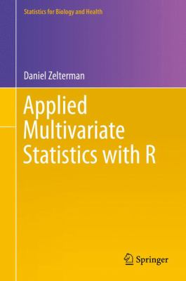 book cover: Applied Multivariate Statistics with R
