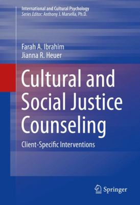 Cover Art of Cultural and Social Justice Counseling