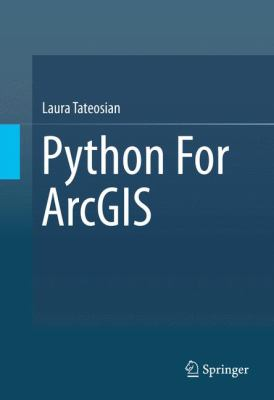 Book Cover : Python for ArcGIS