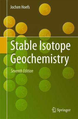 Book Cover : Stable Isotope Geochemistry