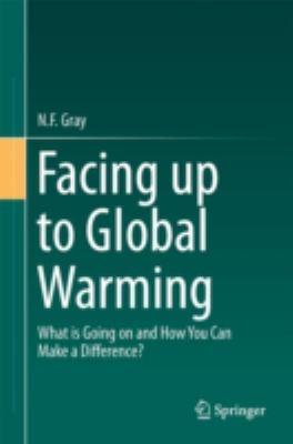 book cover:  Facing up to Global Warming