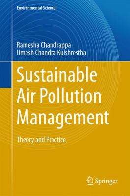 book cover:  Sustainable Air Pollution Management