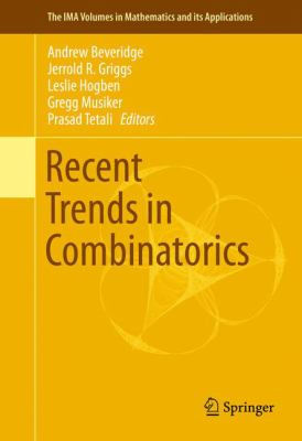 book cover: Recent Trends in Combinatorics