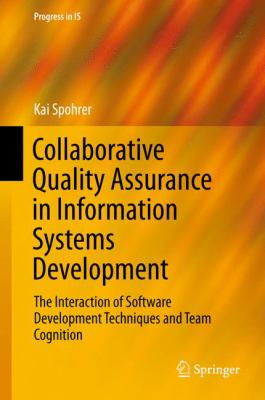 book cover: Collaborative Quality Assurance in Information Systems Development