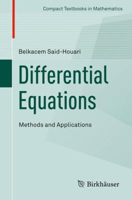 book cover: Differential Equations: Methods and Applications